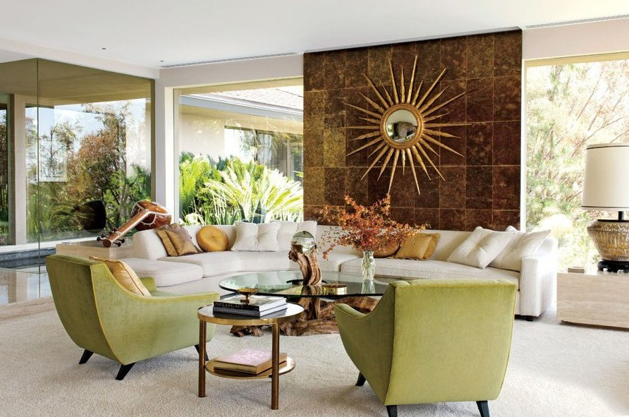 Modern Mid Century Design Style (Zillow) Bright And Beautiful Midcentury  Living Area