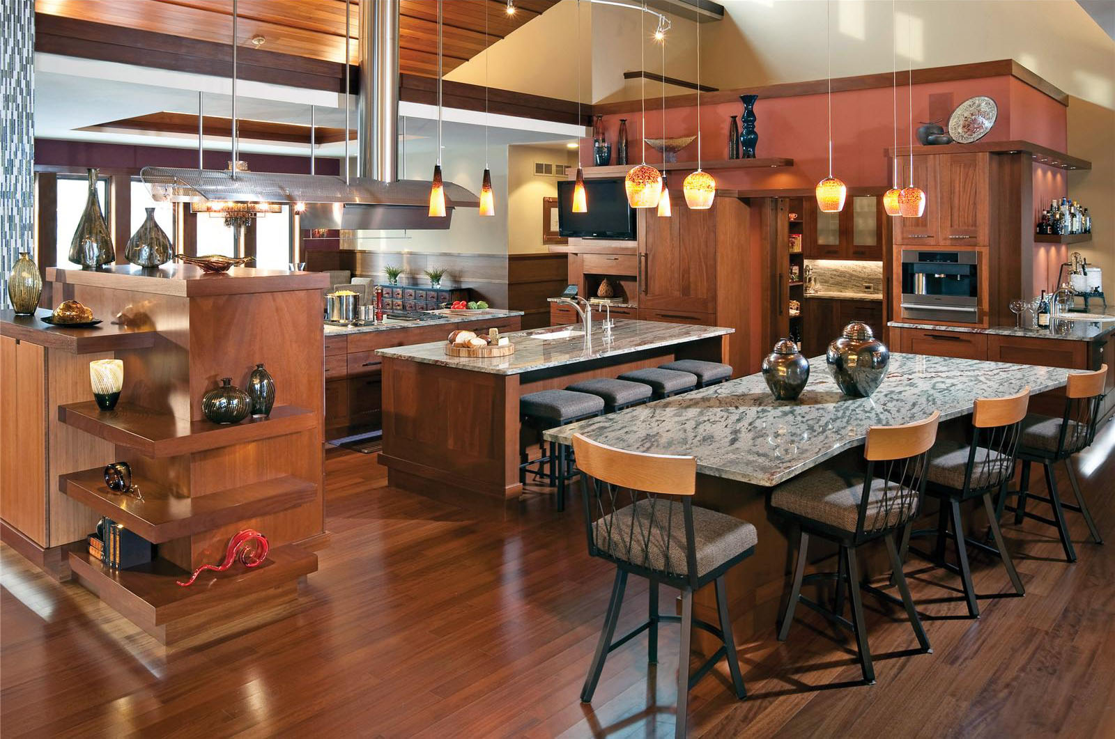 ... Beautiful Open Kitchen Design Part 86
