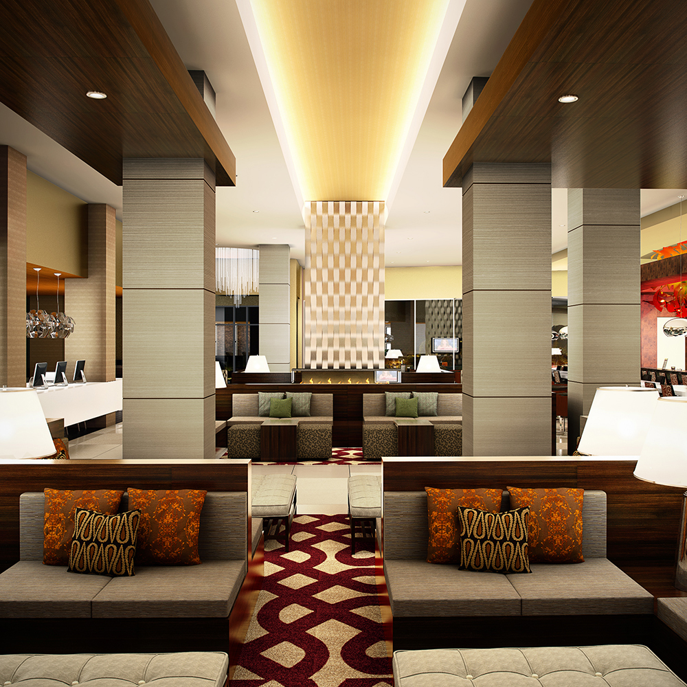 6 ways hotel lobbies teach us about interior design for Modern hotel