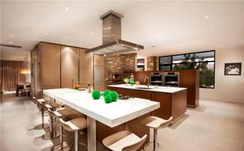 Open kitchen design