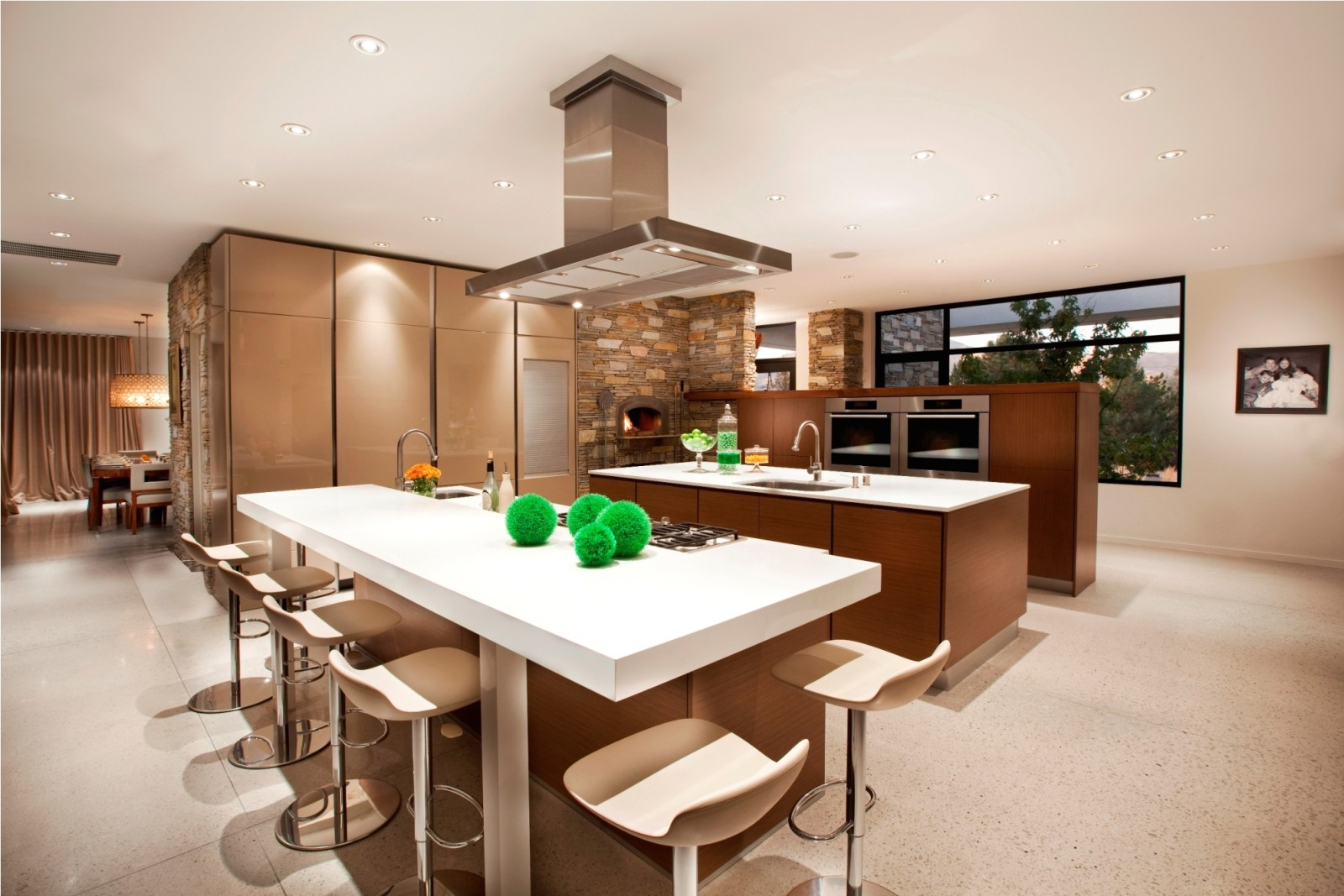 Open kitchen designs for Cuisine americaine design