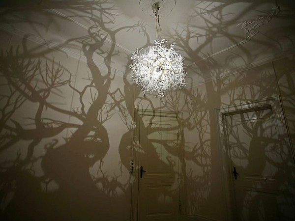 Fantastic DIY chandelier