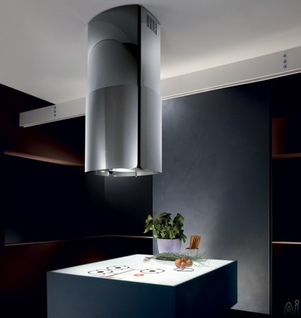 Modern and sleek range hood