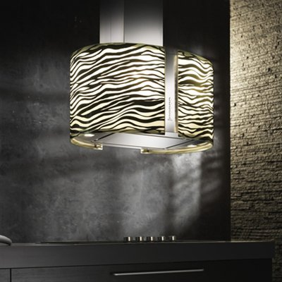 Lighted range hood by Futuro Futuro