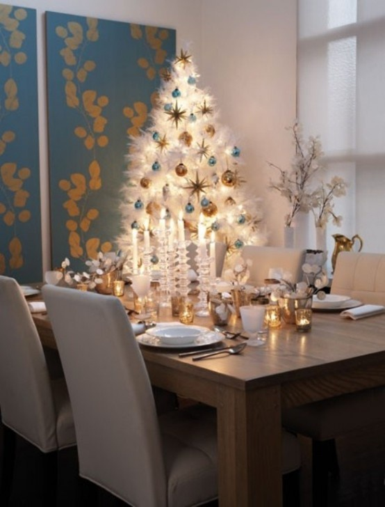 Modern Christmas Decorating Ideas 34 alternative christmas colors and decorating ideas