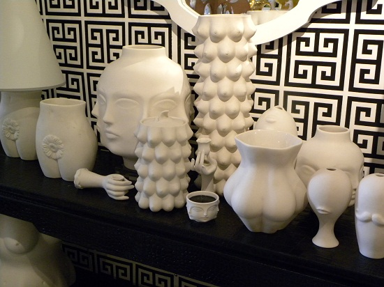 Pottery designed by Jonathan Adler