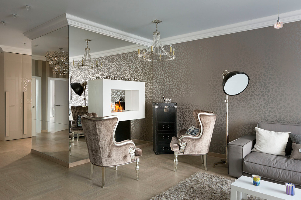 Metallic Wallpaper Shimmers Beautifully