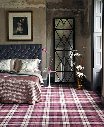 Snuggle Up With Plaid In Your Home