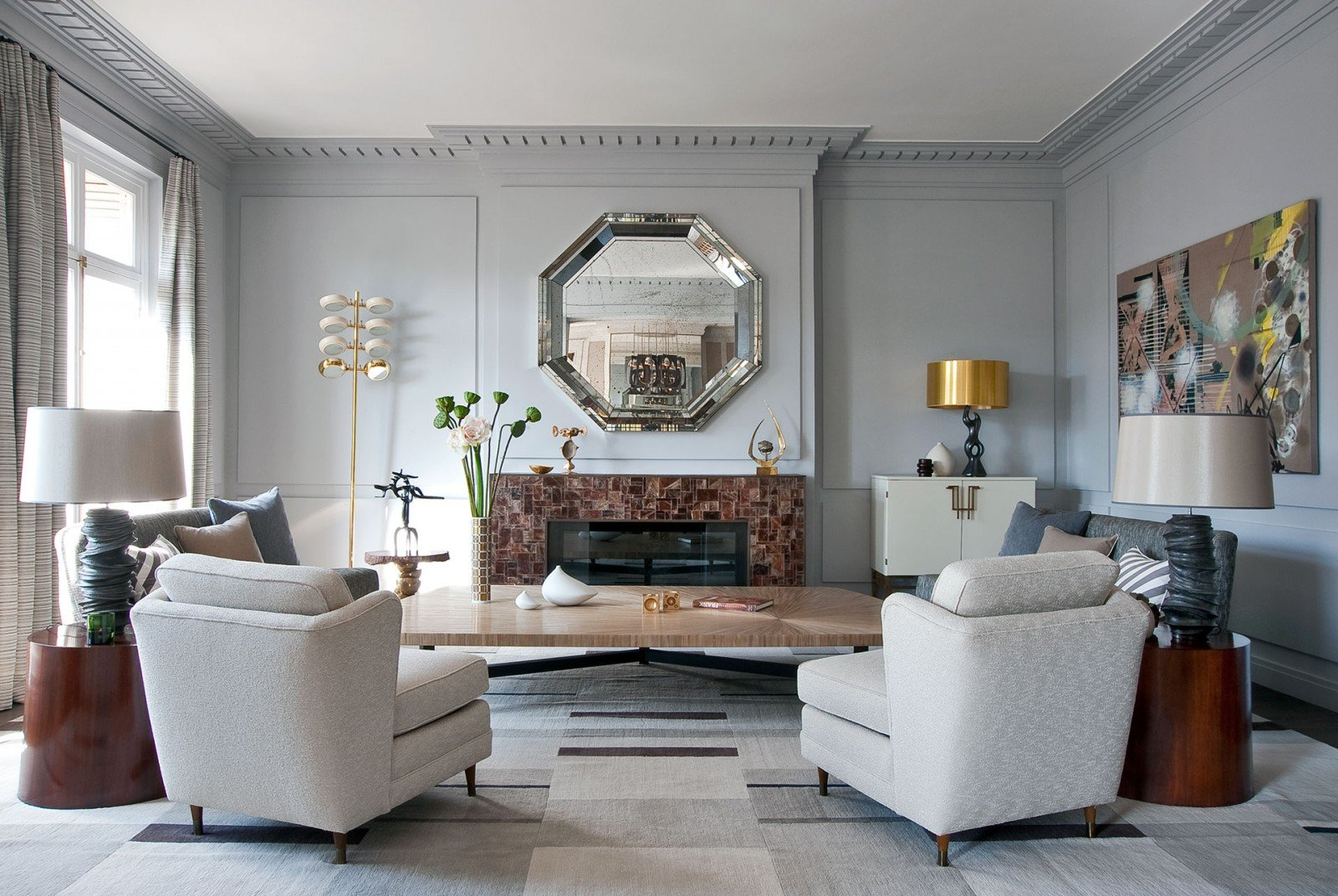crisp and stylish design by jean louis deniot - Best French Interior Designers