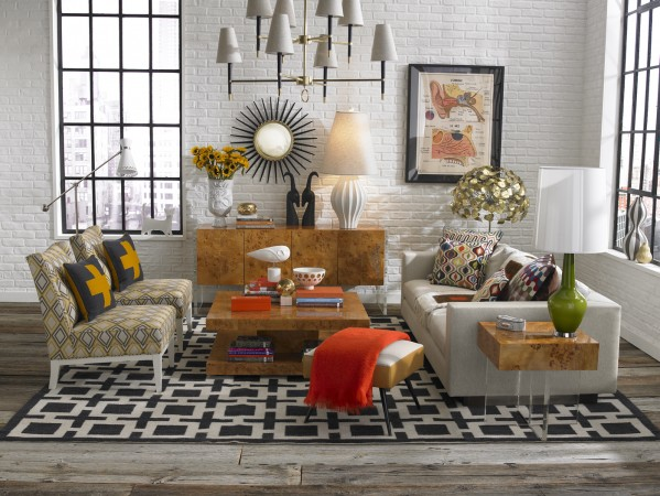 Colorful, rich Happy Chic design by Jonathan Adler
