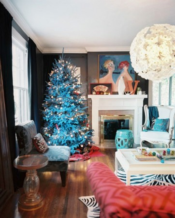 Modern and fresh Christmas décor