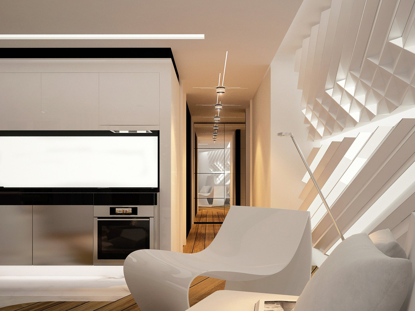 Exploring futuristic interior design for Interior designer