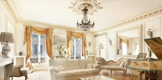 Romantic Parisian interior