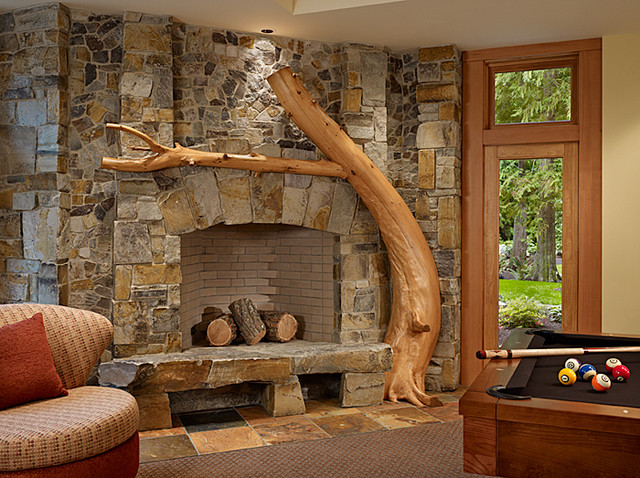 Heat up your fireplace with a stylish mantel - Images of stone fireplaces ...