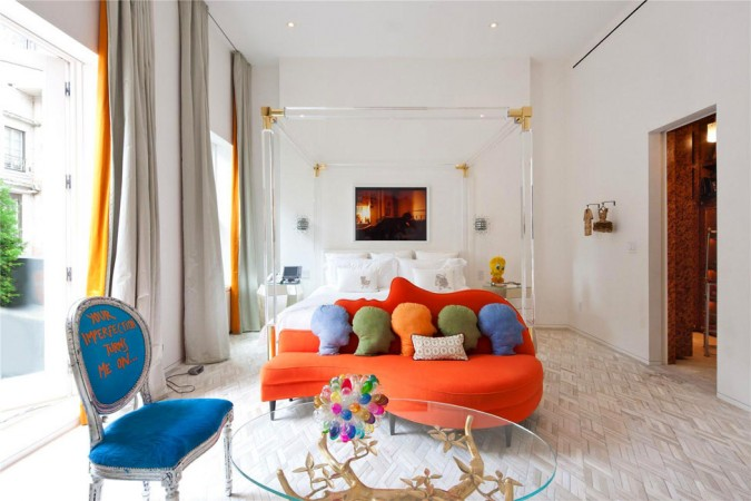 Bright and airy modern style by Jonathan Adler