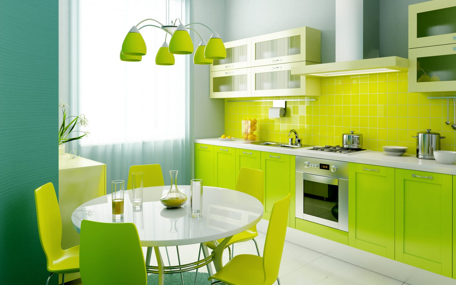 Furniture Design Kitchen colorful kitchen design. zamp.co