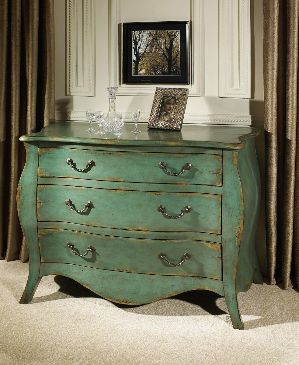 How To Paint A Dresser Like Pottery