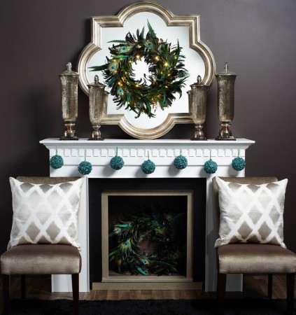 Elegant alternative Christmas décor