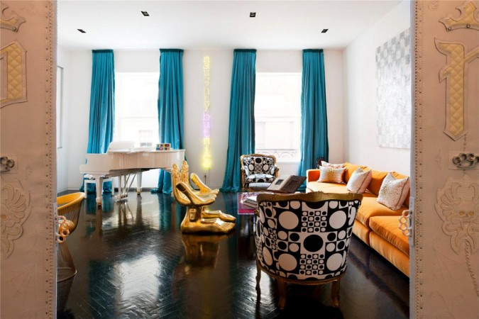 Glamour and modern eclecticism thrive in Jonathan Adler's designs