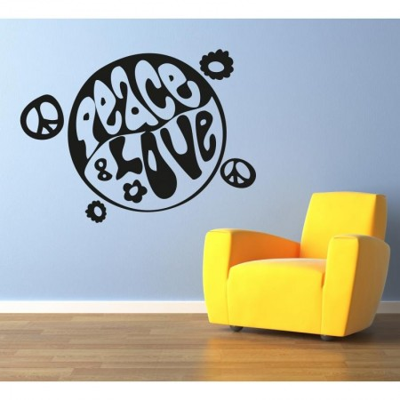 pace-and-love wall stickers