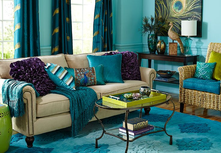 peacock inspired living room inspiring peacock for your home 14552