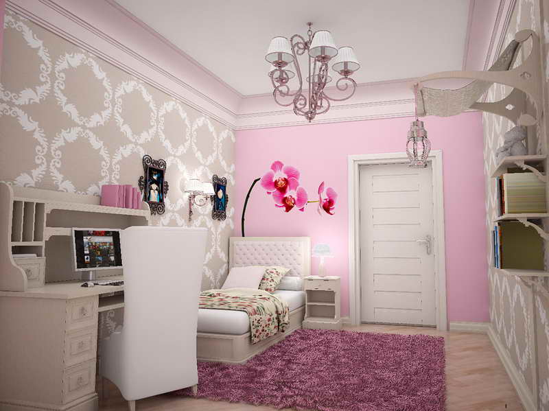 soft and sophisticated teen bedroom