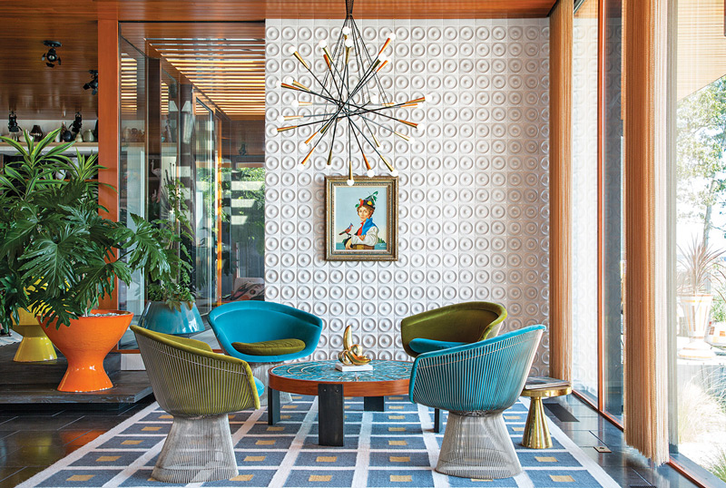 Superieur Jonathan Adler Interior Design Is Mid Century Modern And Rich With Color