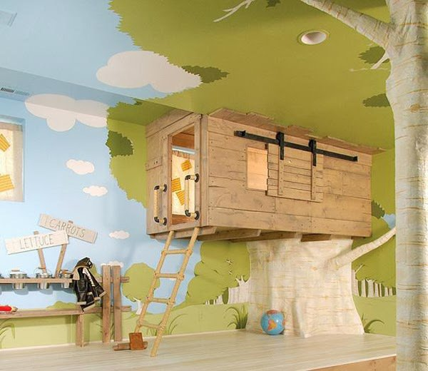 15 outstanding ideas for unique kids rooms