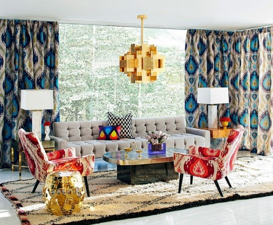 Beautiful space designed by Jonathan Adler