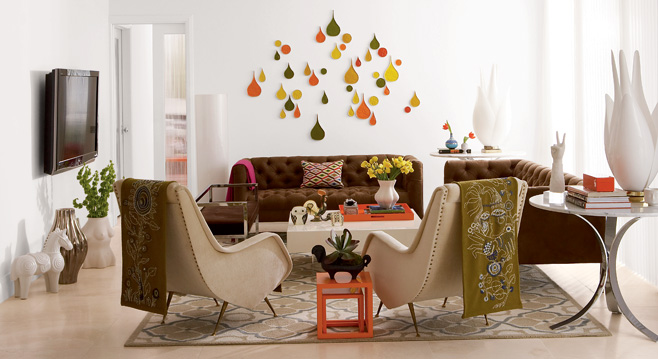 Embracing the mid-century modern style of Jonathan Adler