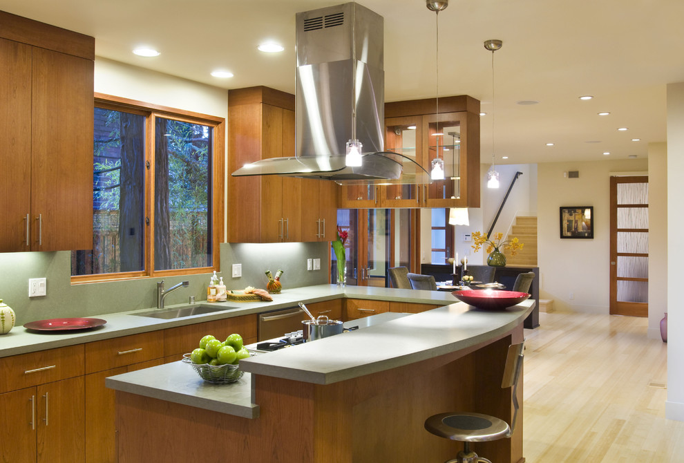4 types of kitchen range hoods to transform your kitchen Kitchen design center stove