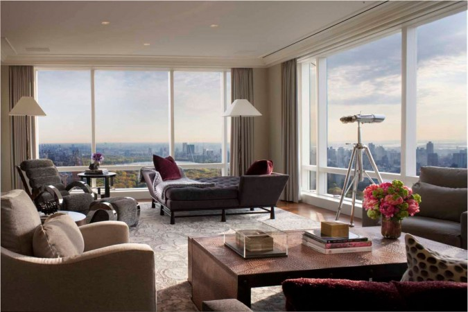 Beautiful views in this city apartment