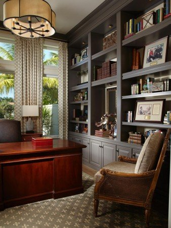 Elegantly stylish home office