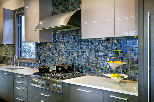 best 20+ blue backsplash ideas on pinterest | blue kitchen tiles