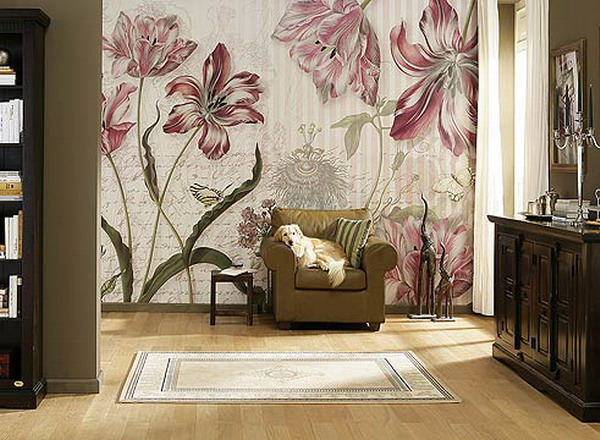 Gorgeous Floral Wall Designs