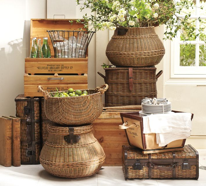 baskets are a versatile decorative and storage solution decorwood