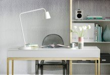Beautiful Ikea desk (housetohome)
