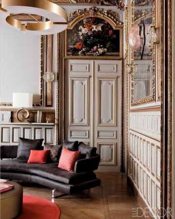 Beautiful architecture in this Paris apartment