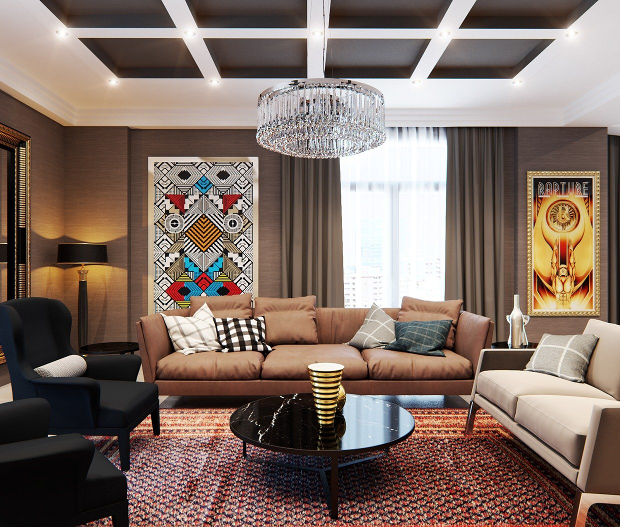 Stylish Apartment Interiors