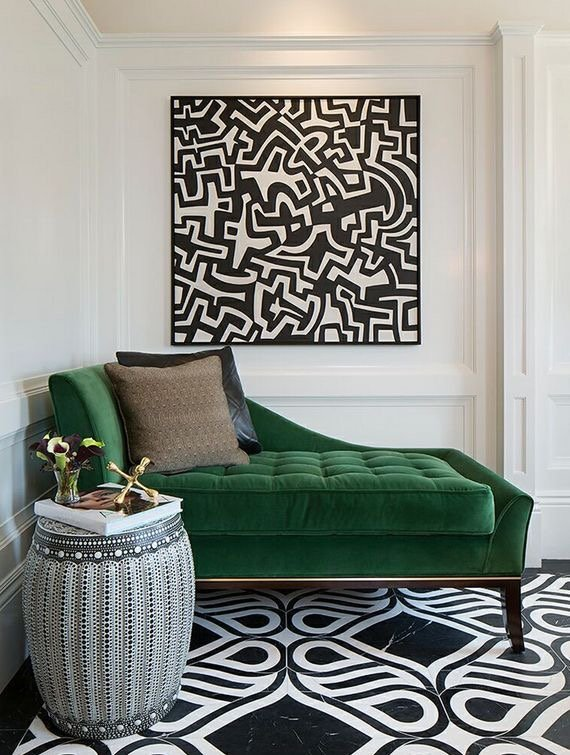 Emerald Green For A Glamorous Home