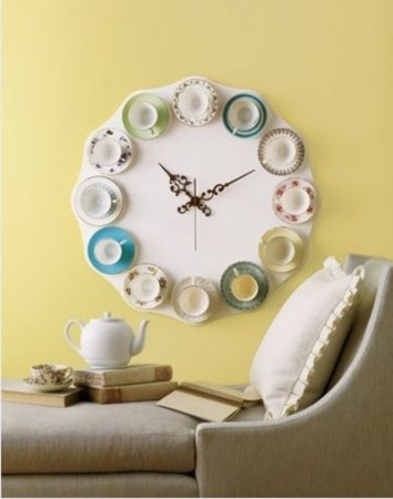 Tea Set turned time-teller.r