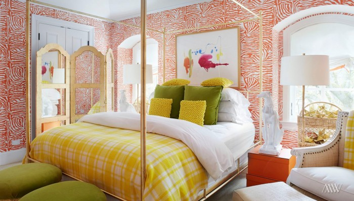Beautiful bright bedroom design by Megan Winters