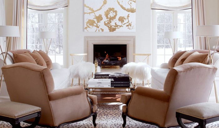 A living room with fresh appeal designed by Megan Winters