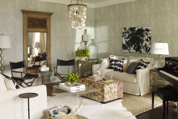 Stylish and chic living room