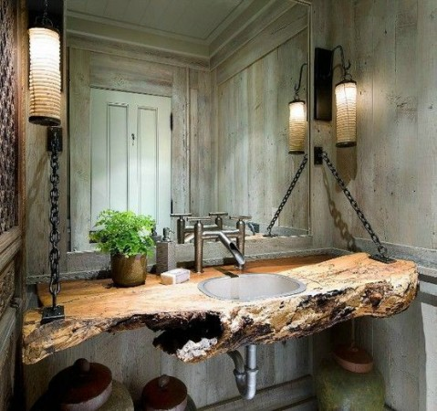 A beautiful bathroom vanity