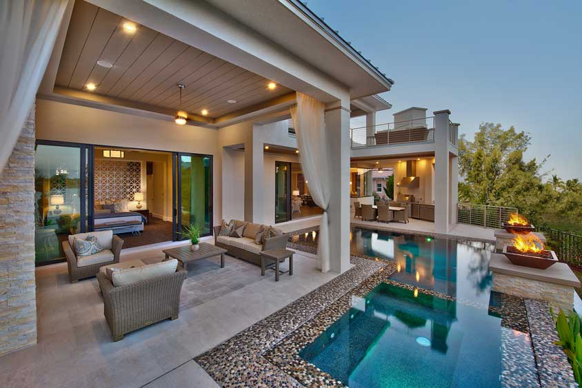 Image gallery luxury outdoor living Living spaces irvine