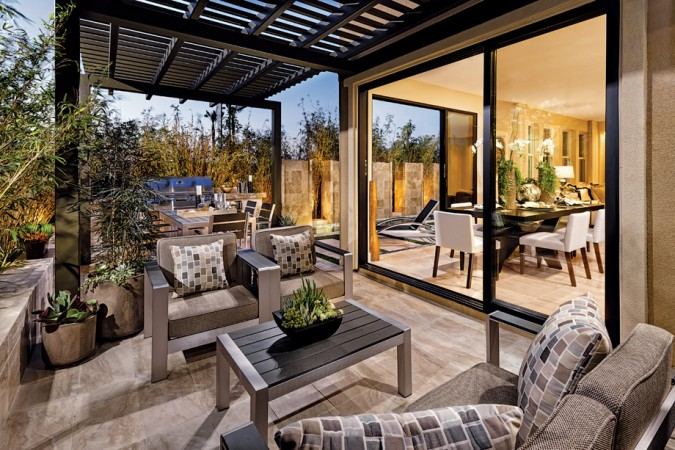 Luxury indoor/outdoor living space