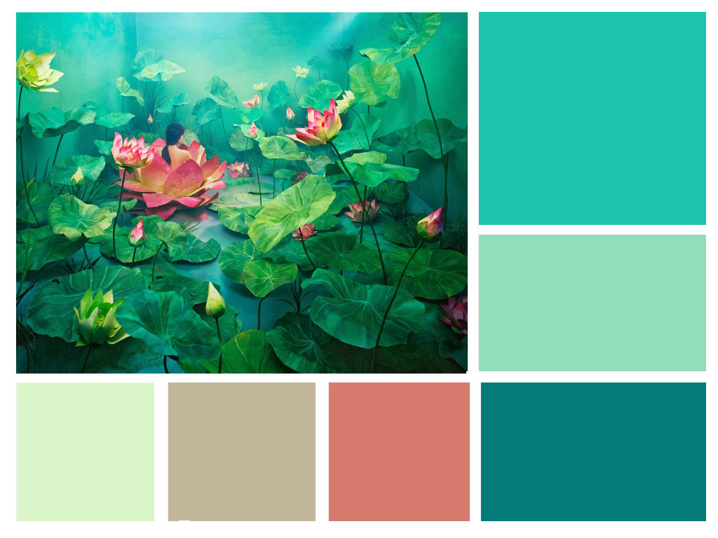Creating Custom Color Schemes From Art Pieces