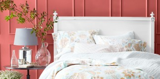 Juliette Floral Sateen Bedding (Garnett Hill).