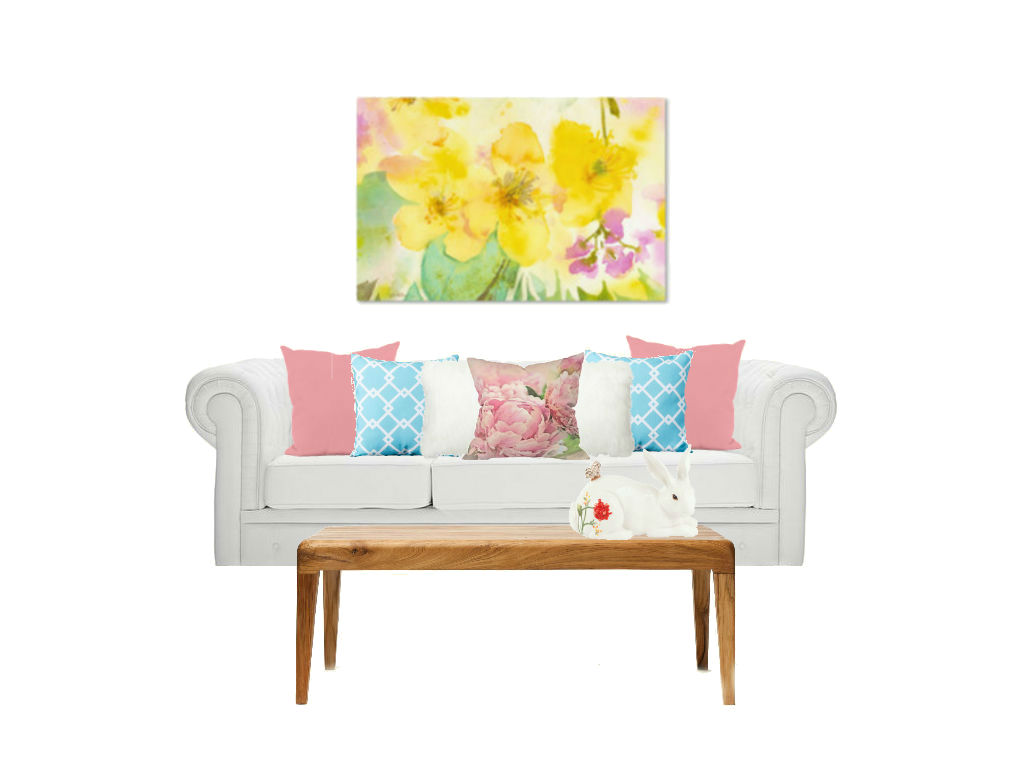 Spring Living Room Houzz World Effect Wayfair